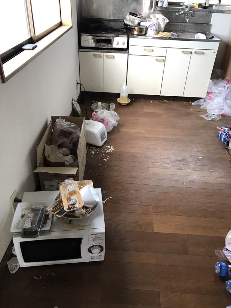 キッチンの状態