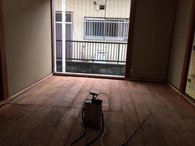 某賃貸マンションの遺留品の撤去・特殊清掃(消臭・消毒)|東京都練馬区のお客様