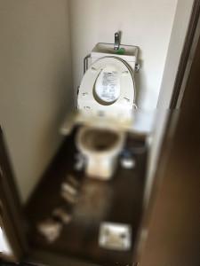 亡くなったトイレの状態